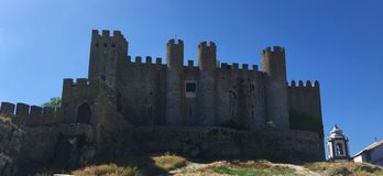 """Castelo DE à """"bidos †""""een kasteel met wortels diep in antiquiteit royalty-vrije stock foto's"""