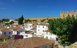 """Castelo DE à """"bidos †""""een kasteel met wortels diep in antiquiteit royalty-vrije stock fotografie"""