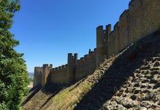 """Castelo DE à """"bidos †""""een kasteel met wortels diep in antiquiteit stock foto's"""