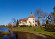 Castelo de 1301 em Latvia Fotos de Stock Royalty Free