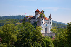 Castelo de Aarburg Imagem de Stock Royalty Free
