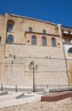 Castelo de Acerenza Basilicata Italy Fotografia de Stock
