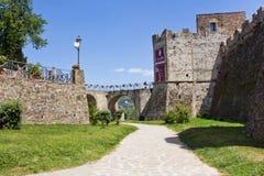Castelo de Agropoli Aragonese Foto de Stock