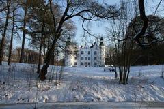 Castelo de Ahrensburg, Alemanha, Schleswig-Holstein Imagens de Stock