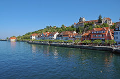 Castelo de Alemanha, mar no lago de Constance imagem de stock