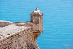 Castelo de Alicante Fotografia de Stock Royalty Free
