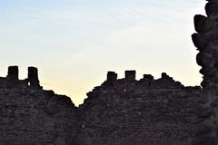 Castelo de Almonacid de Toledo imagem de stock