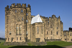 Castelo de Alnwick - Inglaterra Fotografia de Stock