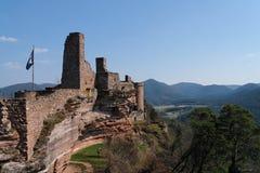 Castelo de Altdahn Foto de Stock Royalty Free