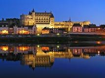 Castelo de Amboise Foto de Stock