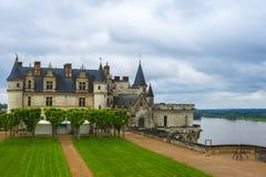 Castelo de Amboise fotos de stock royalty free