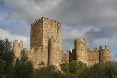 Castelo de Amourol, Portugal fotografia de stock