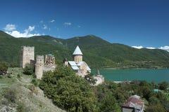 Castelo de Ananuri Fotografia de Stock