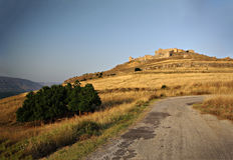 Castelo de Argos Fotos de Stock Royalty Free