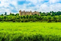 Castelo de Arundel em Sussex ocidental, Inglaterra, Reino Unido foto de stock