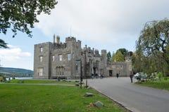 Castelo de Balloch & torres Escócia fotografia de stock