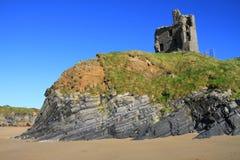 Castelo de Ballybunion Fotos de Stock