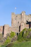 Castelo de Bamburgh Fotos de Stock Royalty Free