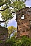Castelo de Bancroft, cidade de Groton, o Condado de Middlesex, Massachusetts, Estados Unidos fotos de stock