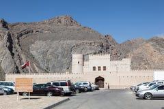 Castelo de Bayt AR Ridaydah em Omã Foto de Stock