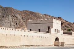 Castelo de Bayt AR Ridaydah em Omã Foto de Stock Royalty Free