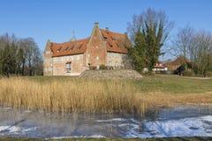Castelo de Bederkesa, Baixa Saxónia, Alemanha Imagem de Stock