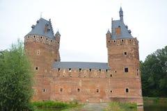Castelo de Beersel Imagem de Stock