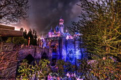 Castelo de beleza de sono Fotos de Stock Royalty Free