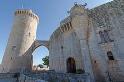 Castelo de Bellver Imagens de Stock Royalty Free