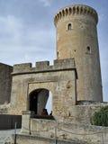 Castelo de Bellver em Palma de Mallorca, Spain Foto de Stock