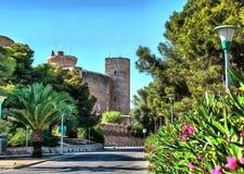 Castelo de Bellver em Palma de Majorca fotos de stock royalty free