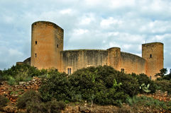 Castelo de Bellver, Mallorca Fotografia de Stock
