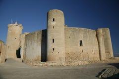 Castelo de Bellver, Palma de Mallorca, Mallorca, Espanha Imagens de Stock Royalty Free