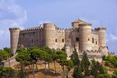 Castelo de Belmonte fotografia de stock