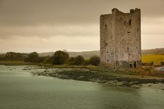 Castelo de Belvelly Cortiça do condado ireland imagens de stock