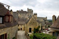 Castelo de Beynac, France Fotografia de Stock Royalty Free