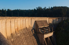 Castelo de Bode Dam Royalty Free Stock Photography