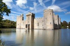 Castelo de Bodiam, Sussex do leste, Reino Unido Foto de Stock Royalty Free