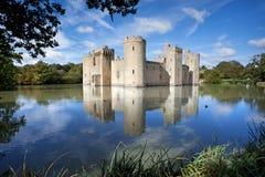 Castelo de Bodiam, Sussex do leste, Reino Unido Imagem de Stock