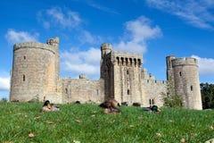 Castelo de Bodiam, Sussex, Inglaterra Foto de Stock Royalty Free