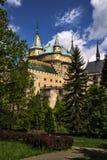Castelo de Bojnice Imagem de Stock Royalty Free
