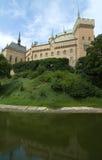 Castelo de Bojnice, Slovakia Fotos de Stock