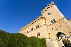 Castelo de Bolgheri Imagens de Stock Royalty Free