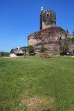 Castelo de Bolkow, Poland, Europa Imagem de Stock Royalty Free
