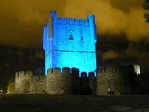 Castelo de Bragança Imagens de Stock Royalty Free