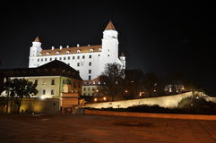 Castelo de Bratislava Fotos de Stock Royalty Free