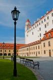 Castelo de Bratislava Foto de Stock
