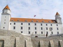 Castelo de Bratislava, Slovakia Fotos de Stock