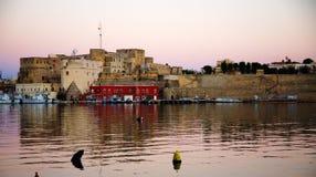Castelo de Brindisi Foto de Stock Royalty Free