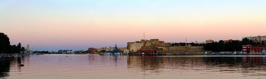 Castelo de Brindisi Imagem de Stock